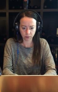 jessica - headphones