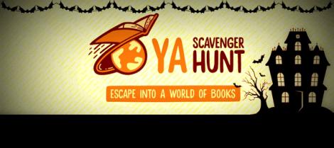 YA Scavenger Hunt Fall 2016 banner